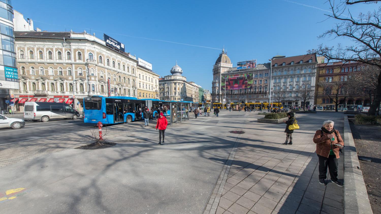 Új tervek születtek a Blaha Lujza tér felújítására
