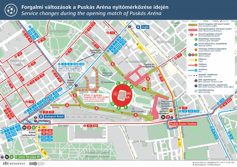 A Legfontosabb Terkep Es Minden Info Az Uj Puskas Stadion Elso