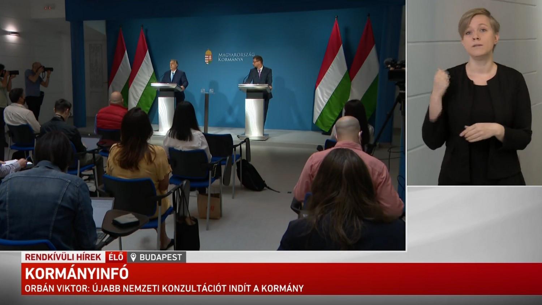 Orbán Viktor meghirdette a következő nemzeti konzultáció, a 200 ezres minimálbérről is kérdez a kormány