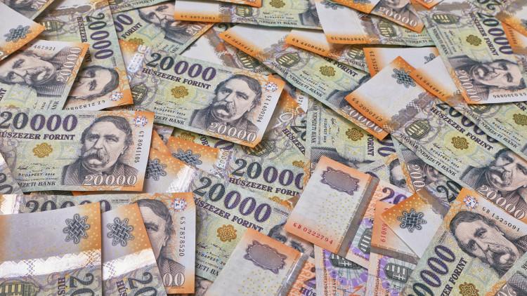 dollár trendvonal)
