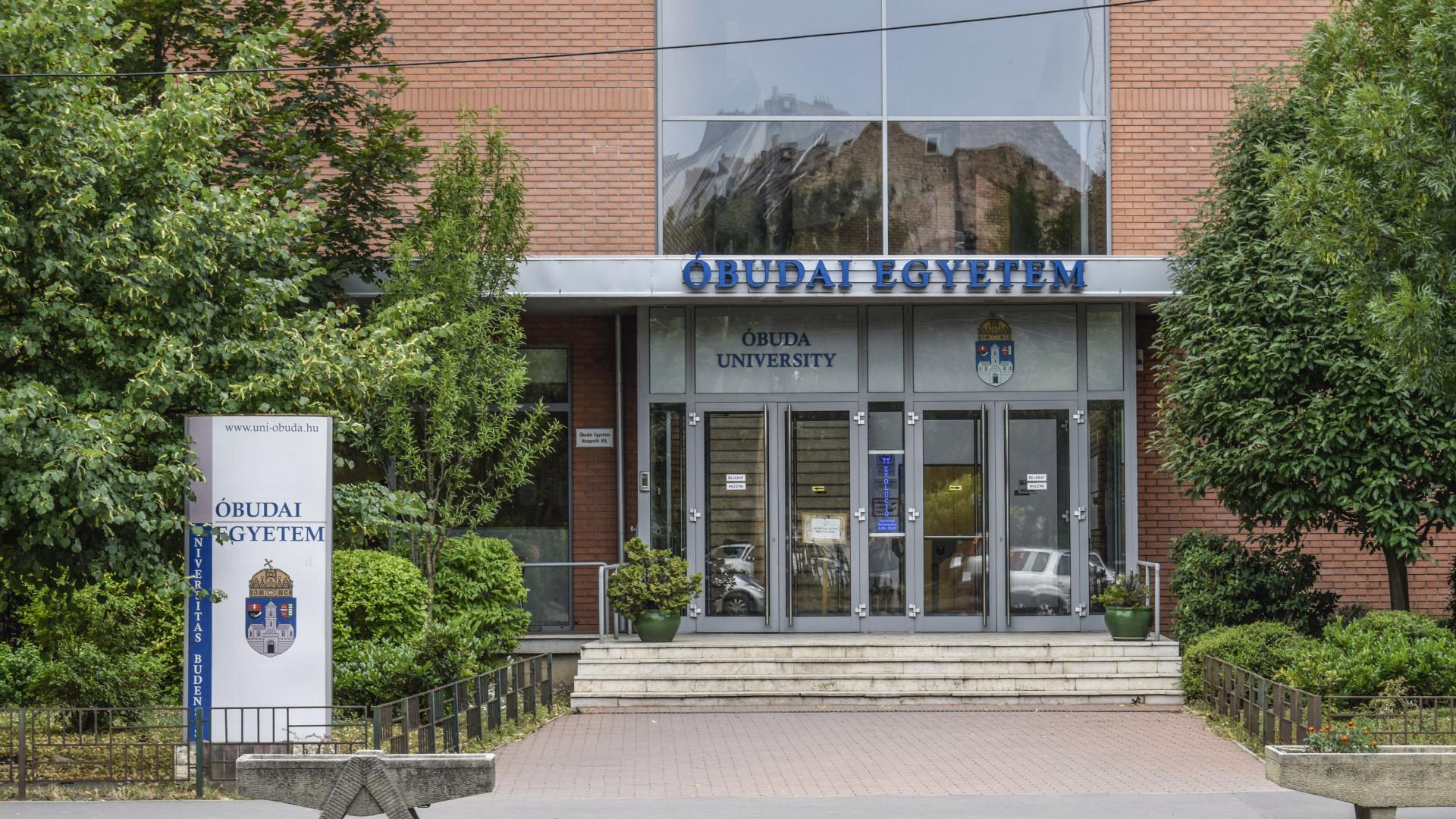 11 milliárd forintos campusfejlesztési támogatást kap az Óbudai Egyetem