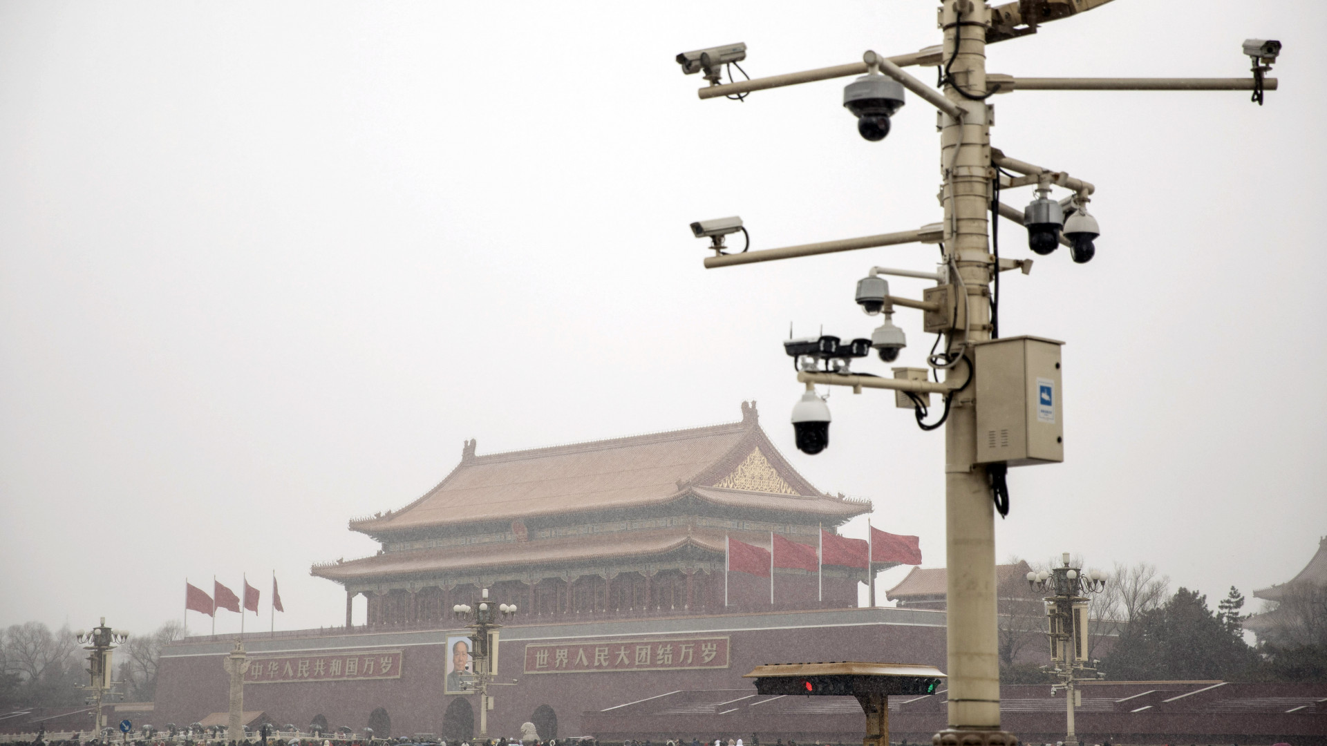 Az internet népe sikítva röhög Kína horrorisztikus megfigyelőrendszerén