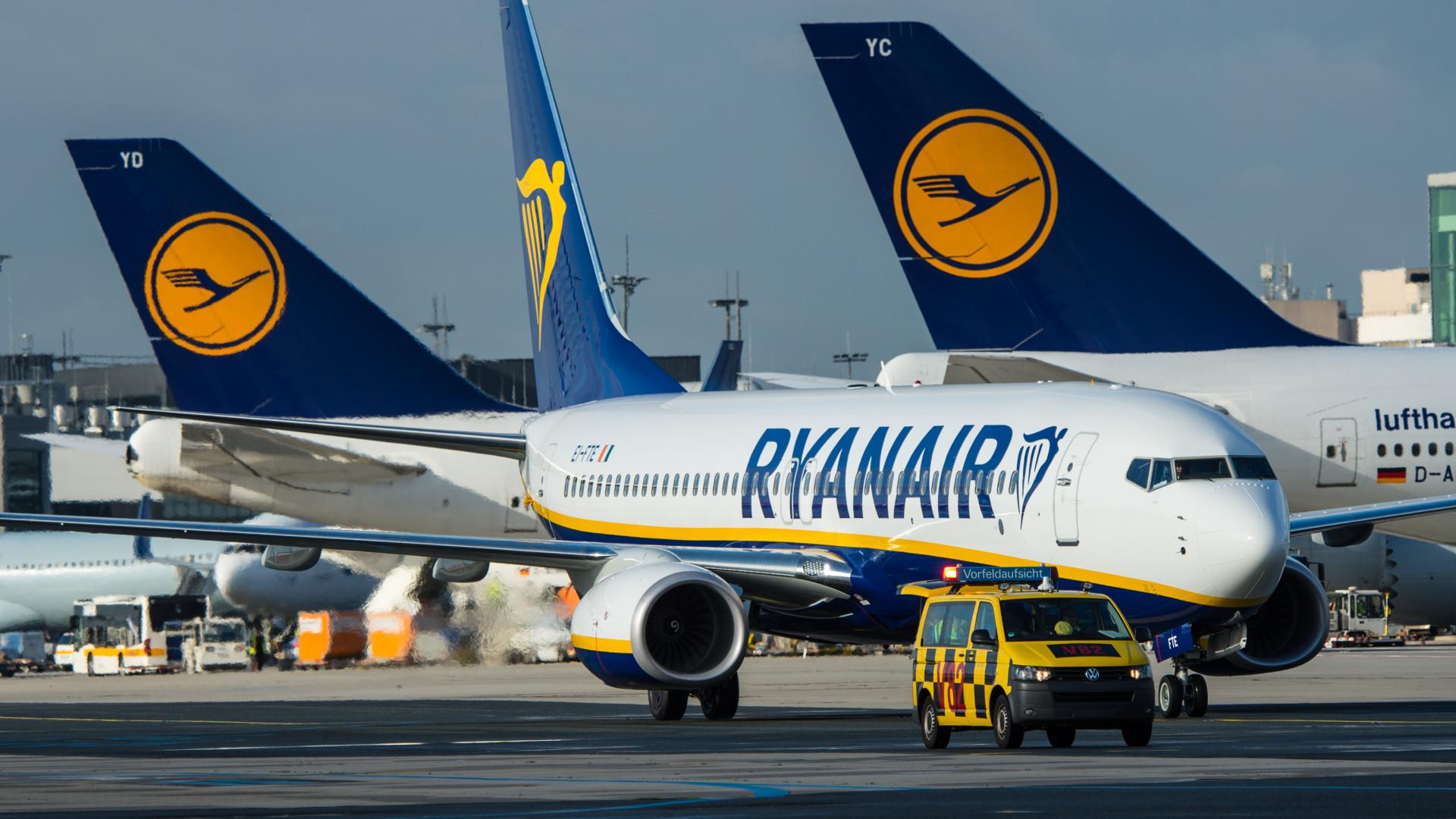 Ankunft Ryanair