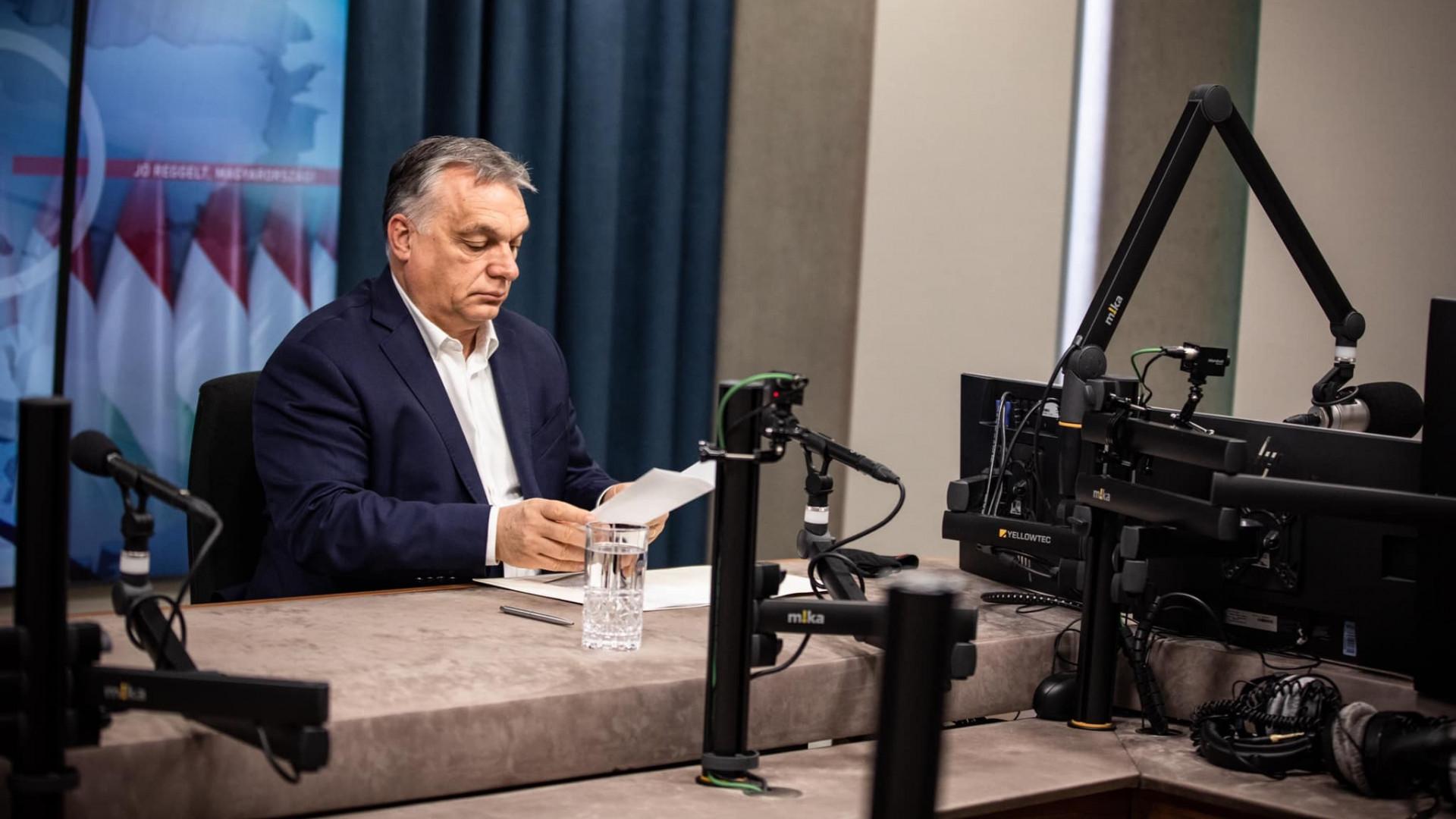 Perceken belül megszólal Orbán Viktor a magyar járványhelyzetről