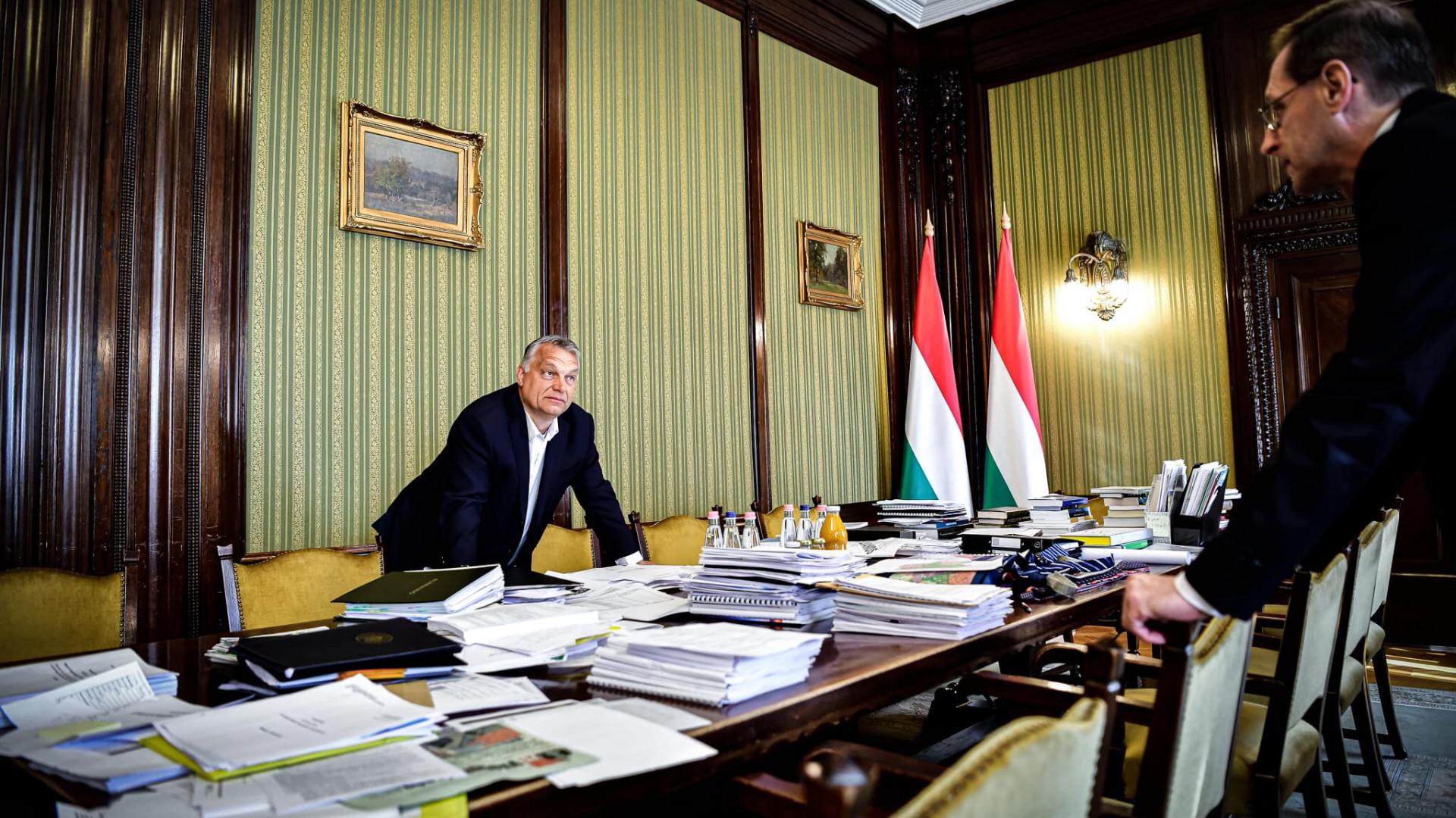 Orbán Viktor képet közölt: így készül a járványügyi költségvetés