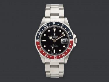 162 – Rolex GMT-Master II férfi karóra, kikiáltási ár 1.300.000 Ft