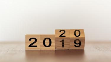 2019 év vége 2020