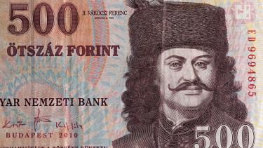 500 forint ötszázas bankjegy