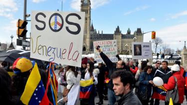 A venezuelai segélyek akadályozása miatt vetett ki szankciókat Amerika