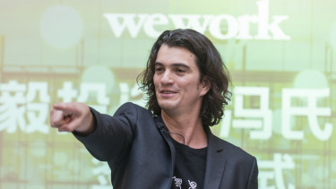 Adam Neumann, co-founder chief executive officer of WeWork