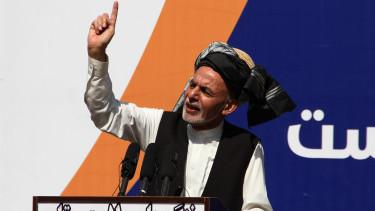 afgan elnok elmenekules beszed210815