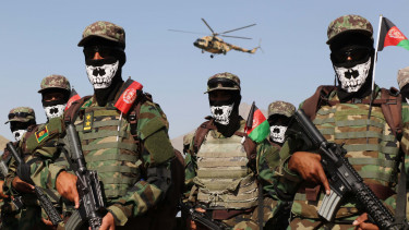 afgán kommandósok
