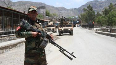 afgán kormányerők