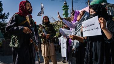afganisztán katasztrófa összeomlás ensz