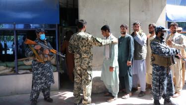 afganisztán tálibok kabul