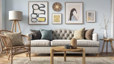 airbnb szoba nappali