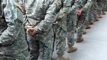 amerikai katonák