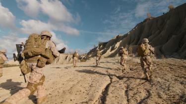 amerikai katonák tengerészgyalogosok vagy az is lehet hogy airsoftosok