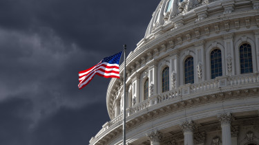 amerikai kongresszus capitolium sötétség