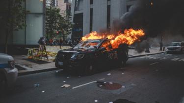 amerikai tüntetés
