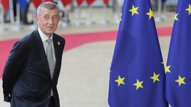 Andrej Babis PM of the Czech Republic since 2017 attending the European Council summit, a meeting of the leaders of the EU leaders in Forum Europa - Residence Palace in Brussels, Belgium.
