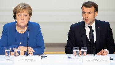 Angela Merkel Emmanuel Macron unios koltsegvetes eu
