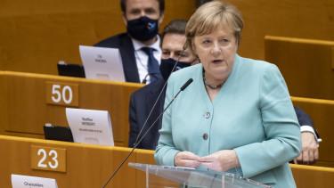Angela Merkel EP beszed jogallamisagi feltetelek unios penzek2007091