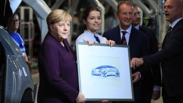 Angela Merkel, Germany's chancellor,