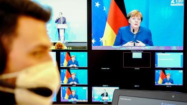 angela merkel németország gdp recesszió