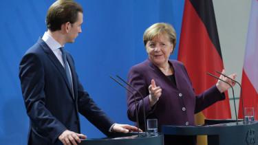 Angela Merkel Sebastian Kurz unios koltsegvetes