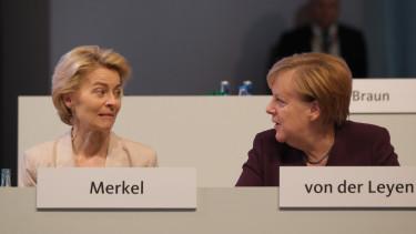 Angela Merkel Ursula von der Leyen ekb nemet alkotmanybirosag 200512
