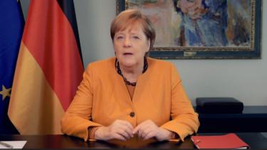 Angela Merkel videouzenet koronavirus 201024