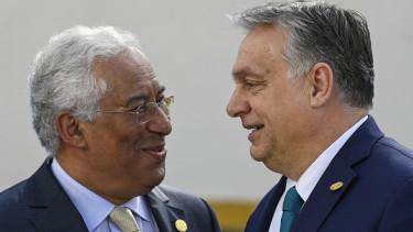 Antonio Costa Orban Viktor ketsebesseges europai unio jogallamisagi vita 201125