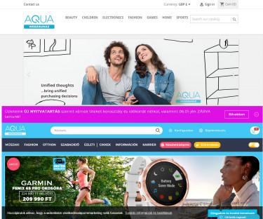 Aqua klónoldal és eredeti