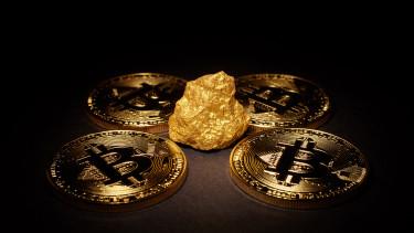 arany, bitcoinokkal