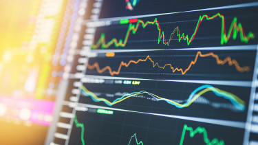 árfolyam kijelző monitor bank