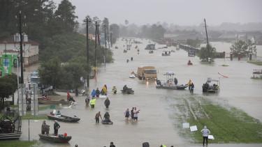 árvíz hurrikán katasztrófa