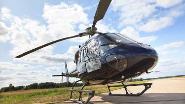 Átlátszó trükkel akartak helikoptert szerezni, de kiszúrta a hivatal