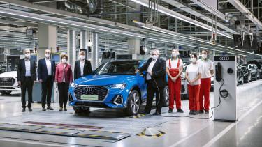 Audi plug-in nyito