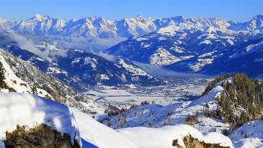 Ausztria, Kaprun, Zell am See, hó, sí