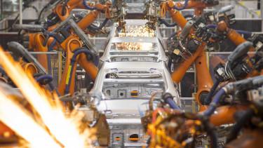 Autógyár robotokkal