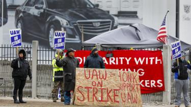 autoipar sztrajk general motors amerika