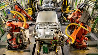 automatizáció robot autóipar technológia