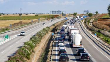 autópálya sztráda torlódás