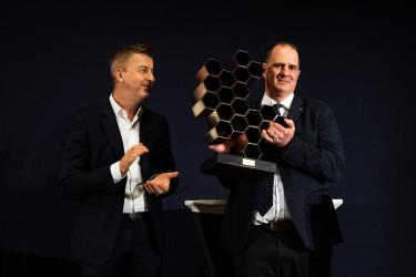 Az év építőipari személyisége díj nyertese:  Balás Ákos