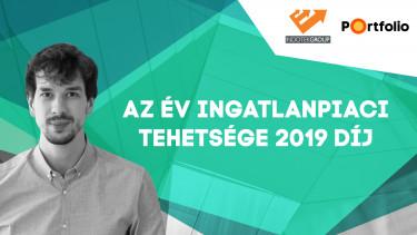 Az év ingatlanpiaci tehetsége díj 2019