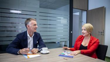 Az Iron Mountain magyarországi ügyvezetőjével, Nagy Ritával és a cég európai, közel-keleti és afrikai üzletágának vezetőjével, Szakonyi Andrással beszélgettünk