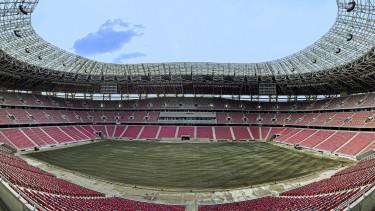 Az új Puskás Aréna belsõ panorámaképe
