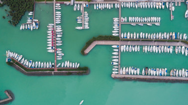 Balaton - kikötő