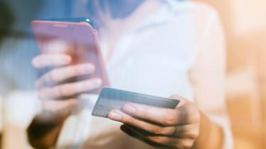 bankkártyás vásárlás mobil e-kereskedelem